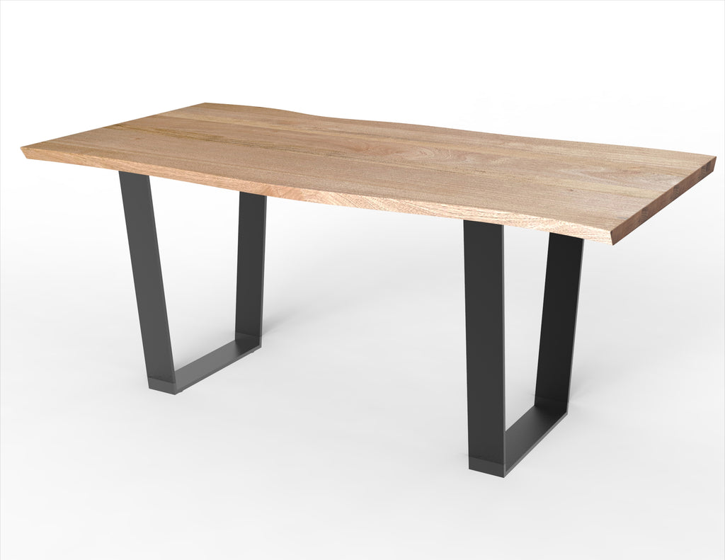 Orion Narrow + Kali Live Edge Dining Table