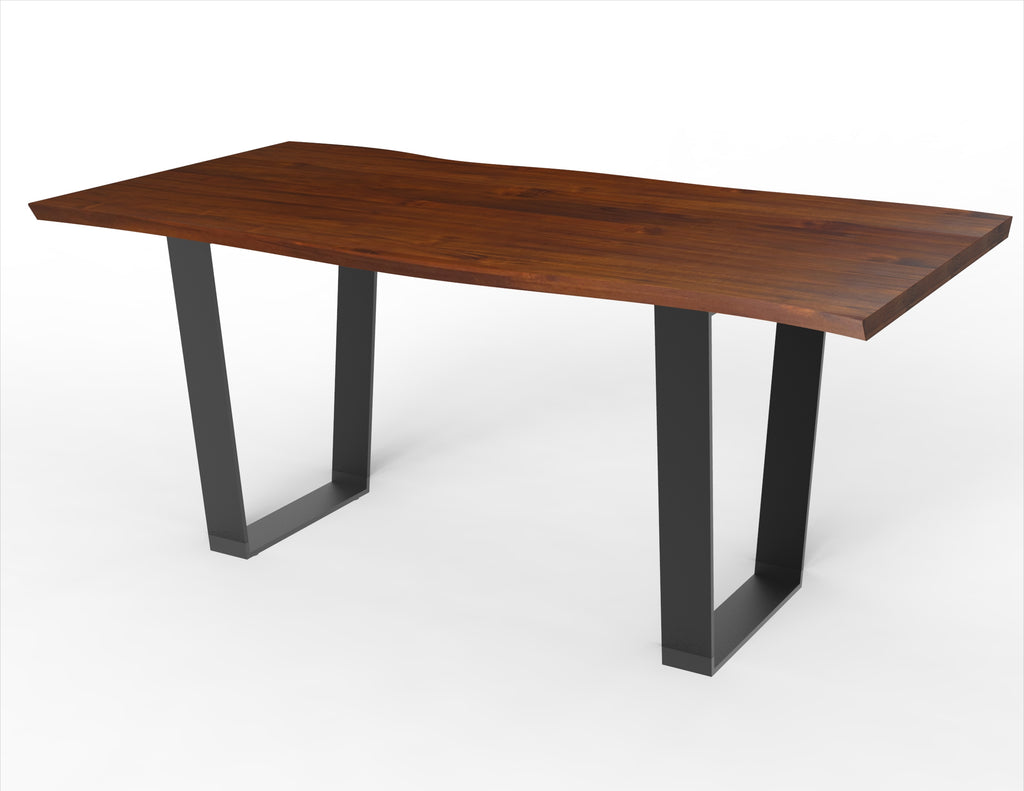 The Orion Narrow + Kali Live Edge Dining Table