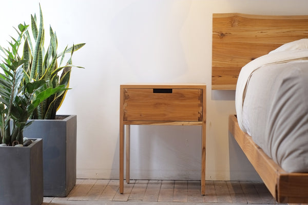 Stitch Side Table • 1 Drawer