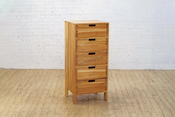 Stitch Dresser Narrow 5 Drawer