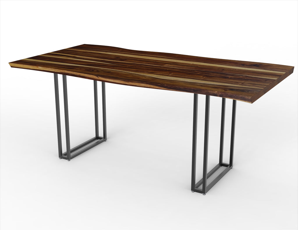 The Wireframe + Kali Live Edge Dining Table