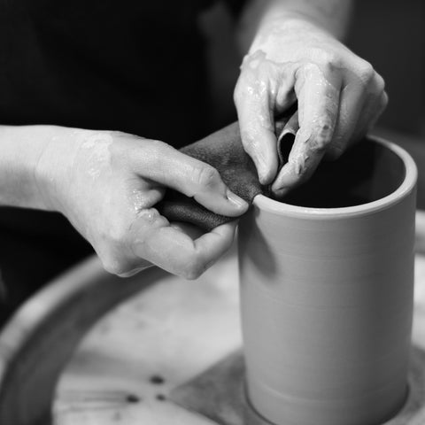 Intro to the Pottery Wheel Bootcamp: Mondays, September 28th - October 26th 6:30-9:30pm