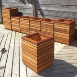 Outdoor Planters by Ruby Pear
