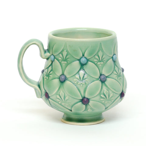 Tufted Mug by Charlotte Grenier