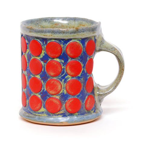 Mug Dot Red by Nate Fields