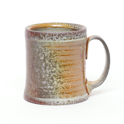 The Floor Is Lava Red Soda Fired Mug by Dave Locke
