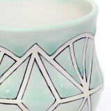 Sea Foam Green Jewel Mug by Bethany Slater