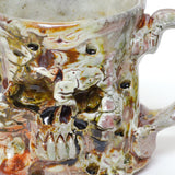 Skull Mug by Michael Bridges