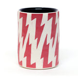 Lightning Bolt Mug by Kyle Rees