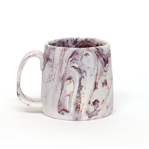 Fudge Ripple Pinched Mug by Tara Carter
