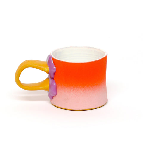 Mug with Glazed on Handle by Aaron Rotchadl