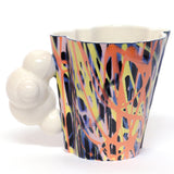 Black Rainbow Cloud Mug by Joe Page