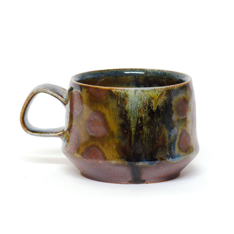 Salty polka dot mug by Heather Ossandon