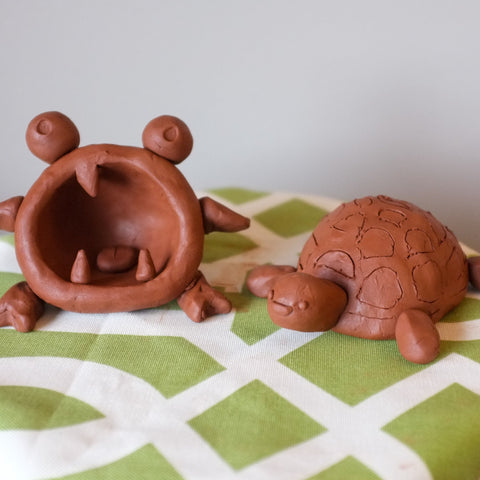 Kid's Clay Monsters and Animals Virtual Workshop with Jessica Cheng June 26th-27th, 1-3pm