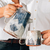 Mountain Coffee Pot and Pour-Over