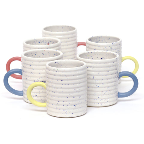 Ribbed Speckle Mug by Taylor Callaway