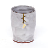 Foliage Tumbler with Gold Luster by Danielle Carelock