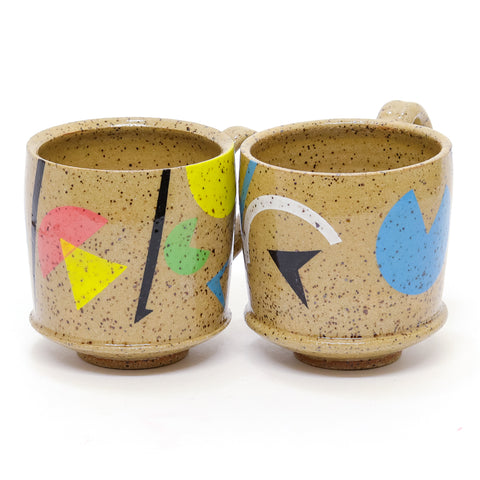 Speckled Retro Remix Mug by Amanda Love
