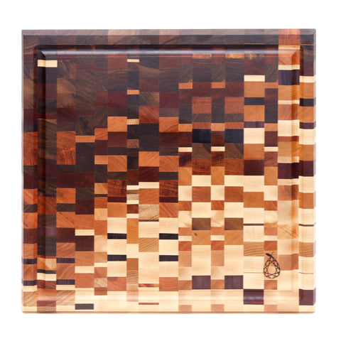 Glitch Cutting Board by Ruby Pear Woodworks