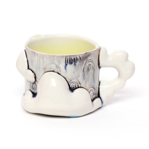 Yellow Cloud Mug by Taylor Whyte