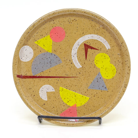 Speckled Snack Party Plate by Amanda Love