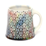 Rainbow Cubed Mug by Chris Hosbach