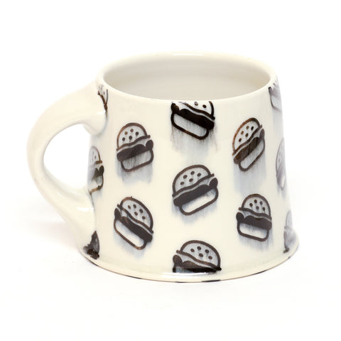 Hamburger Mug by Chris Hosbach
