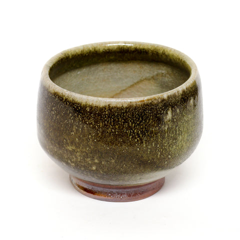 Shino Wood-Fired Chawan by Dom Venzant