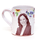 Joe Biden and Kamala Harris Mug by Justin Rothshank