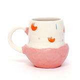 Sad Flop and Light a Candle Mug by Coco Spadoni