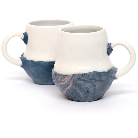 For the Minimalist Marbled Mug by Coco Spadoni
