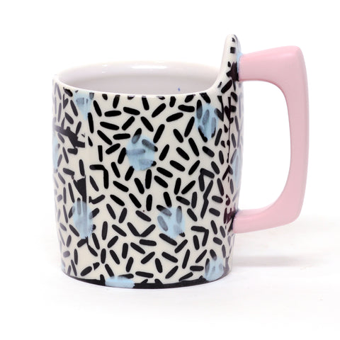 Rice Pattern Mug by Adrienne Eliades