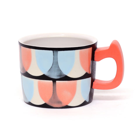 Off Register Halfmoon Mug by Adrienne Eliades