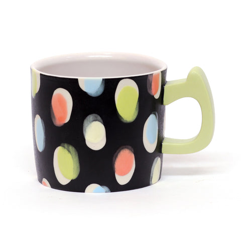 Off Register Oval Pattern Mug by Adrienne Eliades