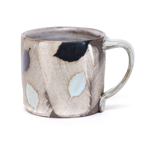 Leaf Mug 1 by Amy Evans