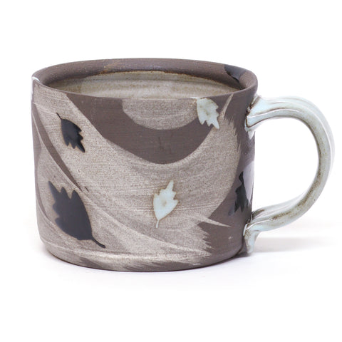 Leaf Mug 2 by Amy Evans