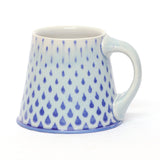 Blue & Light Blue Raindrops Mug by Chris Hosbach