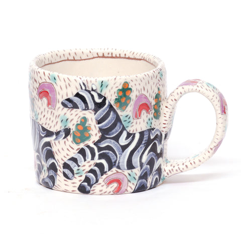 Zebra Mug by Michelle Im/Rat Cicks