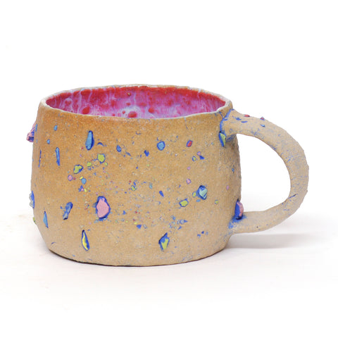 Bottom of the Crayon Box Mug by Elizabeth Given