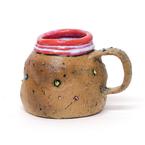 Narrow Mouth Bottom of the Crayon Box Mug by Elizabeth Given