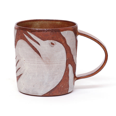 Bird Fleeing Elements Mug by Glenn Hendrick