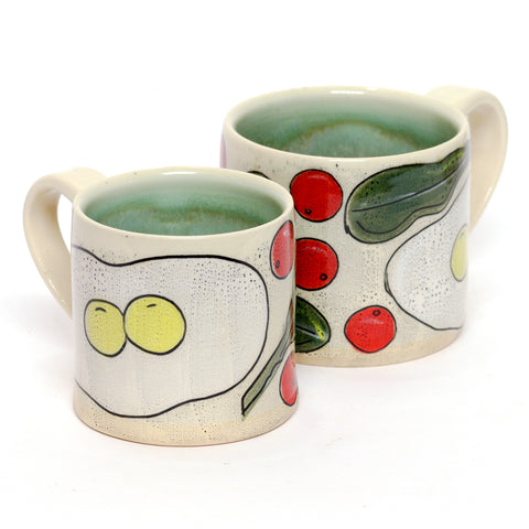 Lucky Breakfast Mug by Rosa Friedrichs