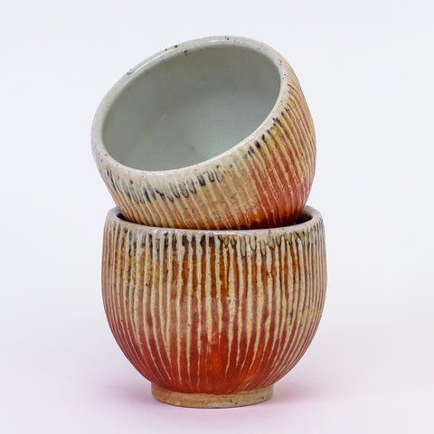 Carved cup by Jennifer Nerad