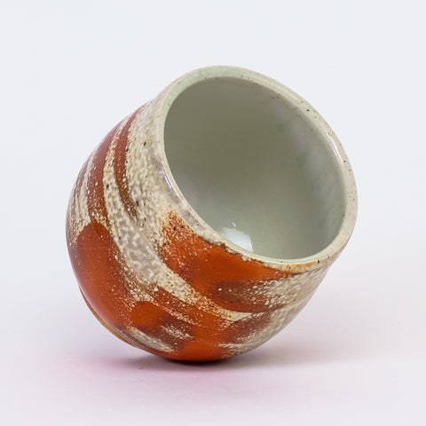 Rust Cup by Jennifer Nerad