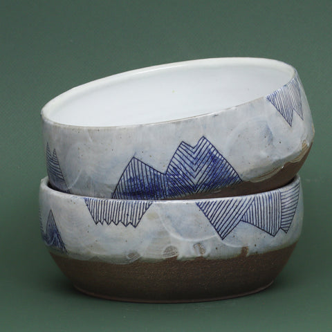 Mountain Serving Bowl