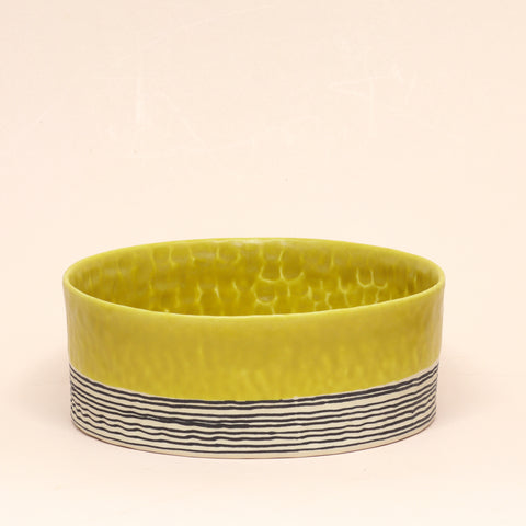 Pinched Serving Bowl by Elizabeth Benotti