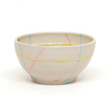 White Disassembeled Bowl by Danielle Hawk