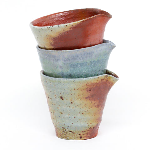 Wood-Fired Creamers by Natasha Alphonse Ceramics
