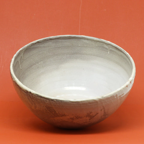 Large Shino Serving. Bowl by Natasha Alphonse Ceramics