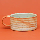 Low Toasted Shino Mug by Natasha Alphonse Ceramics